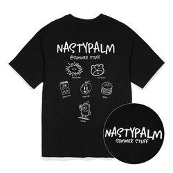 스터프 컬렉션 티셔츠 블랙