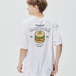 패트릭 로고 티셔츠 화이트