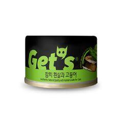 겟츠 gets 캔 85g 24개입 - 참치흰살 고등어signature