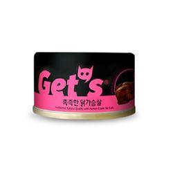 겟츠 gets 캔 85g 24개입 - 촉촉한닭가슴살 signature