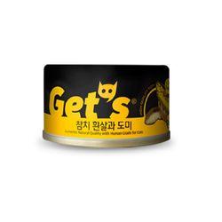 겟츠 gets 캔 85g 24개입 - 참치흰살 도미  signature