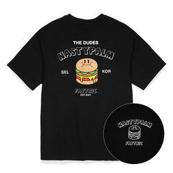 패트릭 로고 티셔츠 블랙