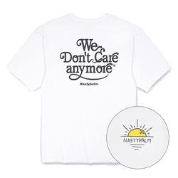 네스티 썬 로고 티셔츠 화이트