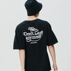 네스티 썬 로고 티셔츠 블랙