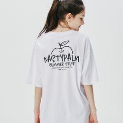 지미 애플 티셔츠 화이트