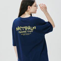 네스티 썸머 스터프 티셔츠 네이비
