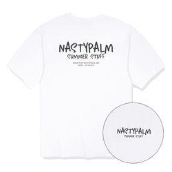 네스티 썸머 스터프 티셔츠 화이트