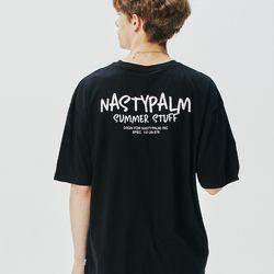 네스티 썸머 스터프 티셔츠 블랙