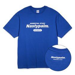 네스티 어센틱 로고 티셔츠 블루