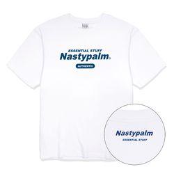 네스티 어센틱 로고 티셔츠 화이트