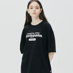 네스티 어센틱 로고 티셔츠 블랙