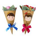 장미 사탕꽃다발 (5인용)