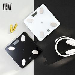 비스카 블루투스 스마트 체중계(화이트) 색상 택1