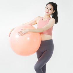 안티버스트 짐볼 다이어트 필라테스 요가볼 (55cm 핑크)