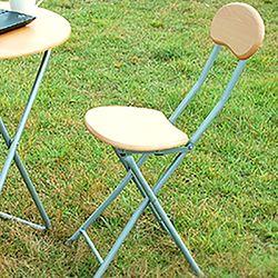 접이식 식탁 의자 원목 티 테이블 책상 간이 의자