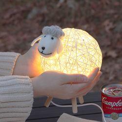 LED 코튼램 무드등(수유등 취침등)