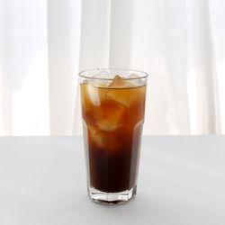 홈카페 유리컵 유리잔 아이스 아메리카노473ml