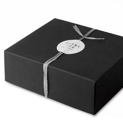 (인디고샵)모던 블랙 선물상자-5 (2개)