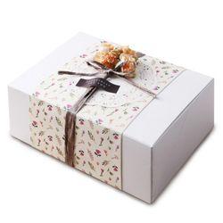 (인디고샵)모던 화이트 선물상자-4(2개)