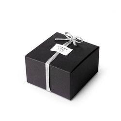 (인디고샵)모던 블랙 선물상자-1(2개)