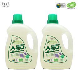액체세제 대용량 액체세제 소문난 3L 2통