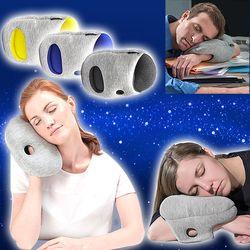 숙면 팔베개 미니쿠션 기능성베개 학생 수면배개