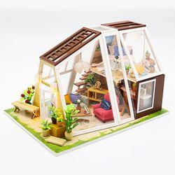 [adico]DIY 미니어처 하우스 - 오로라 오두막
