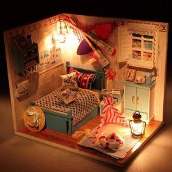 [adico]DIY 미니어처 하우스 - 비올라의 룸 B