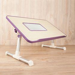 노트북 테이블+쿨러 거치대 받침대 컴퓨터 좌식 책상
