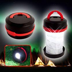 팝업 캠핑랜턴 LED랜턴 후레쉬 캠핑등 손전등 LED램프