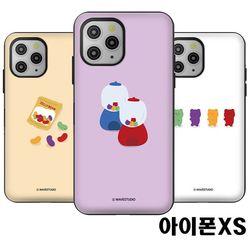 아이폰XS 젤리 마그네틱 도어범퍼케이스