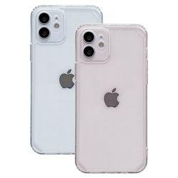 아이폰11 라이트 컬러 클리어 커버 젤리 케이스 P592