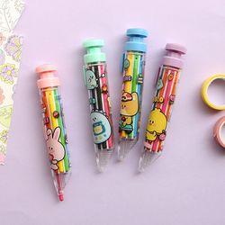 3000 쪼꼬미친구들 8색 색연필 (랜덤발송)