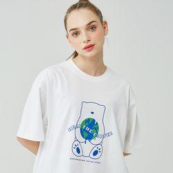 25P HEAL THE EARTH T-SHIRT [white]
