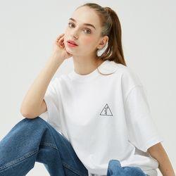 25P BASIC LOGO T-SHIRT [white]