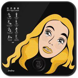 [정보고시 KC 인증 입력] 스마트 디지털 체중계 팝아트 블랙 ABS1402EPB