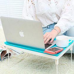 접이식 노트북 책상 좌식 간이 테이블 보조 거치대