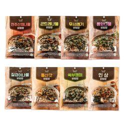 건나물 전주 산채 나물 비빔밥 바로쿡 재료 간편조리 1봉