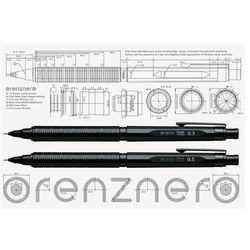 펜텔 오렌즈 네로 0.3mm (PP3003-A) 0.5mm(PP3005-A)