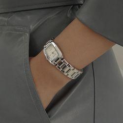 여성 팔찌 시계 메탈 손목시계 바우스 브릿 실버