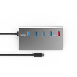 넥스트 3.0 TYPE C 4 Port + Charger 1Port USB허브 NEXT-329TC