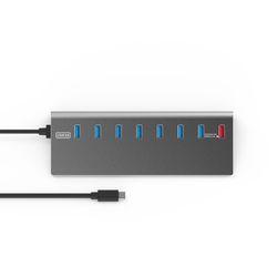 넥스트 3.0 TYPE C 7 Port+Charger 1Port USB허브 NEXT-330TC