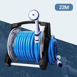 세차 원예 물청소 4기능 강력분사 파워풀 호스릴 22m