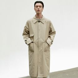 BALMACAN MULTI POCKET COAT [BEIGE]