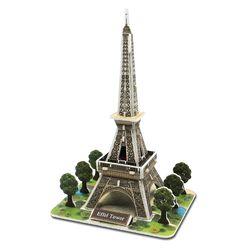 모또 세계 건축물 에펠탑 입체퍼즐 만들기