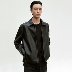 CLASSIC LEATHER BLOUSON_BLACK