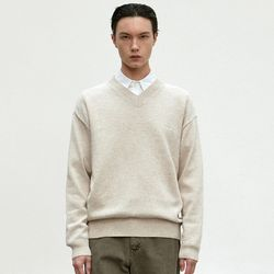 EMBROIDERY COTTON KNIT [OATMEAL]