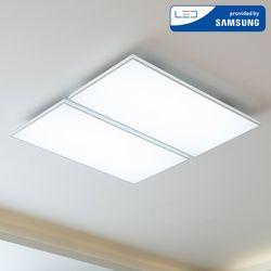 LED 트라브 슬림 거실등 100W