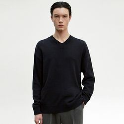 EMBROIDERY COTTON KNIT [NAVY]