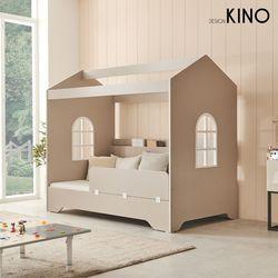 슈에뜨 하우스 타입 어린이 침대 A형 + 알로매트 + 가드
